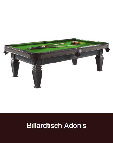 Billardtisch-Adonis