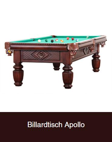 Billardtisch-Apollo in  Bonn