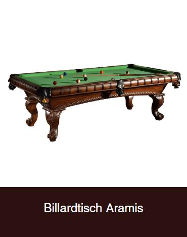 Billardtisch-Aramis aus  Bonn