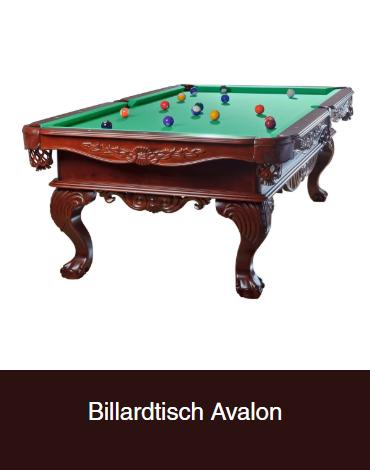 Billardtisch-Avalon für 53111 Bonn