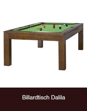 Billardtisch-Dalila