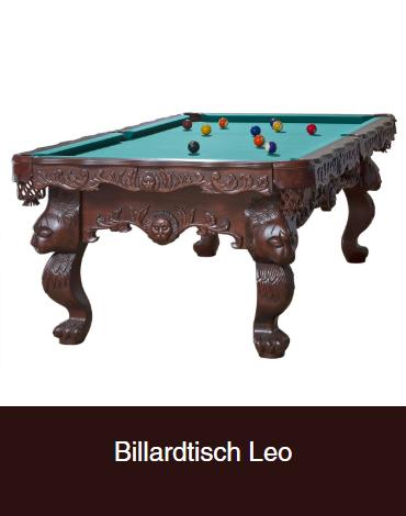 Billardtisch-Leo aus  Bonn