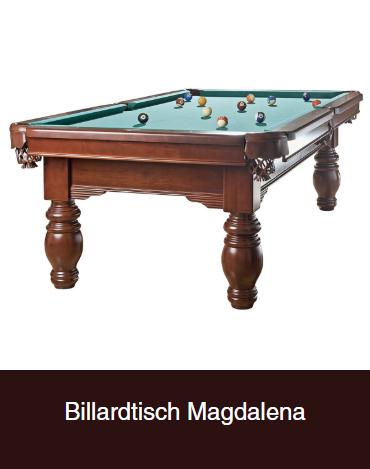 Billardtisch-Magdalena