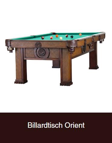 Billardtisch-Orient aus  Bonn