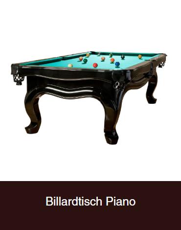 Billardtisch-Piano