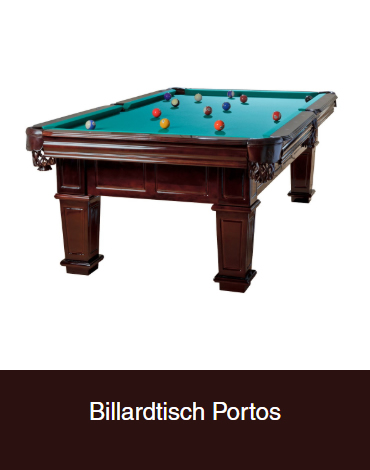 Billardtisch-Portos
