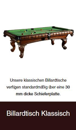 klassiesche-Billardtische aus  Bonn