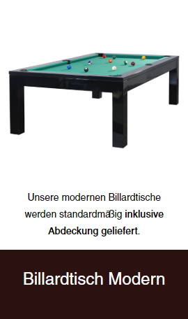 moderne-Billardtische für  Bonn